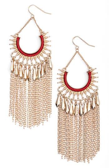 Women's Adia Kibur Chain Fringe Earrings