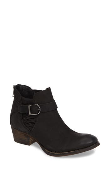 Charles By Charles David Yara Perforated Chelsea Bootie- Black