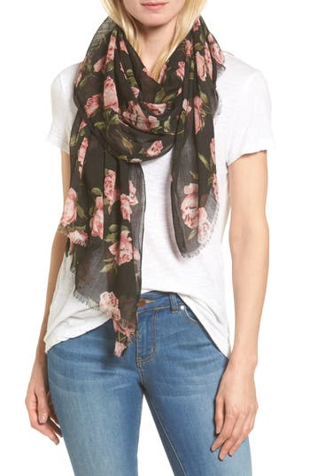Women's Sole Society Floral Print Scarf