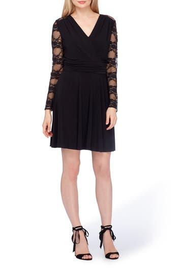 Women's Tahari Lace Fit & Flare Dress