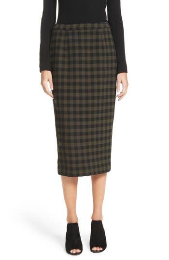 Women's A.l.c. Thea Plaid Wool Pencil Skirt