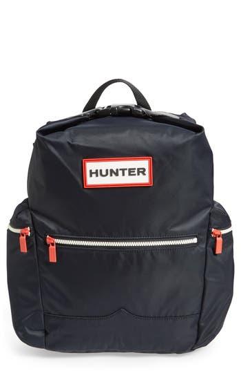 Hunter Original Top Clip Nylon Backpack - Black