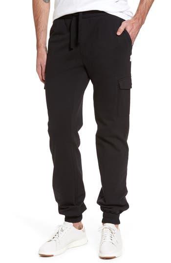 Ugg Jersey Cargo Pants, Black
