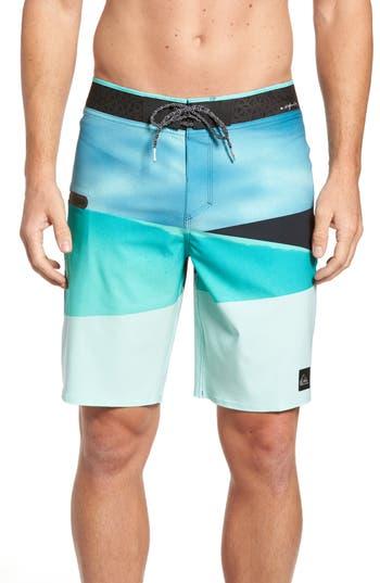 Quiksilver Slash Vee 20 Board Shorts, Blue