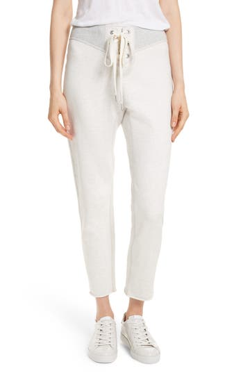 Women's Rag & Bone/jean Walton Lace-Up Sweatpants