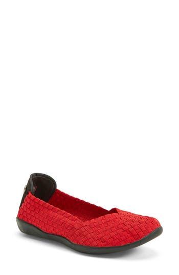 Women's Bernie Mev. Catwalk Sneaker, Size 6US / 36EU - Red