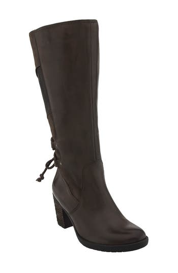 Earth Miles Tall Boot, Brown