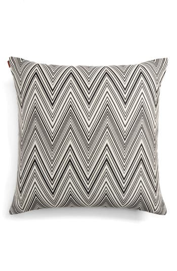Missoni Chevron Accent Pillow, Size One Size - Grey