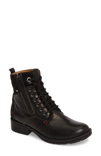 Comfortiva Sarango Lace-Up Boot, Black