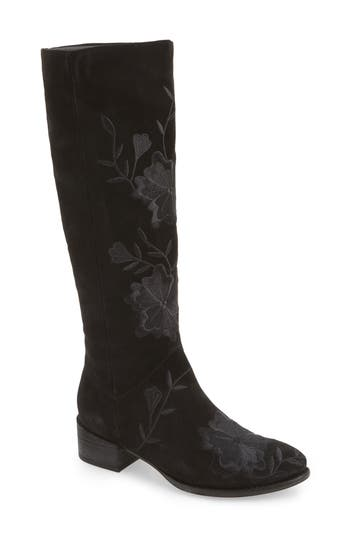 Seychelles Callback Embroidered Boot, Black