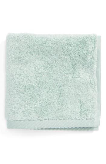 Matouk Milagro Washcloth, Size One Size - Blue/green