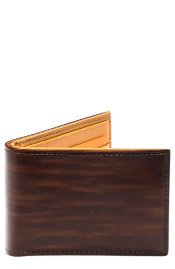 Magnanni Slim Leather Bifold Wallet - Brown