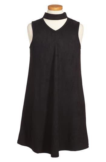Girl's Miss Behave Anna Choker Neck Dress