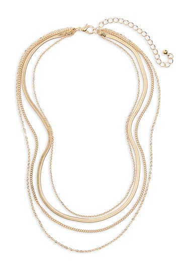 Women's Bp. Layered Chain Necklace