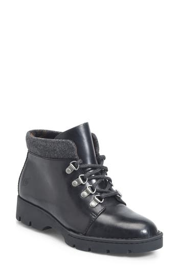 B?rn Soprics Lace-Up Bootie, Black