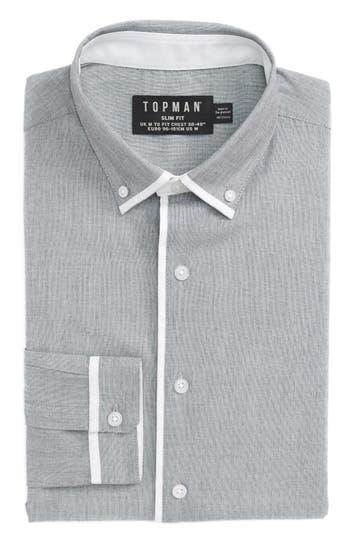 Men's Topman Leeson Slim Fit Smart Shirt