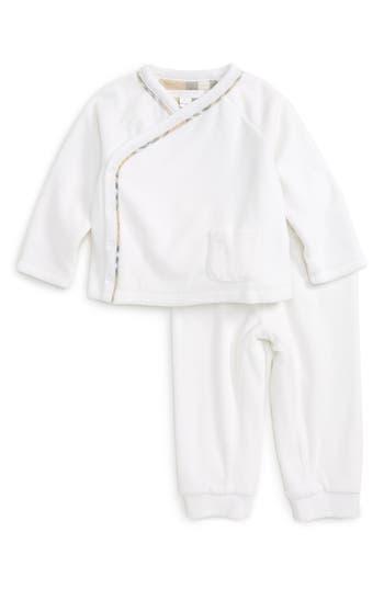 Infant Boy's Burberry Remy Shirt & Pants Set