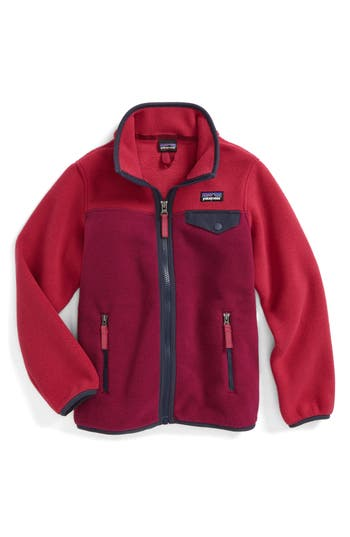 Girl's Patagonia Synchilla Snap-T Fleece Jacket