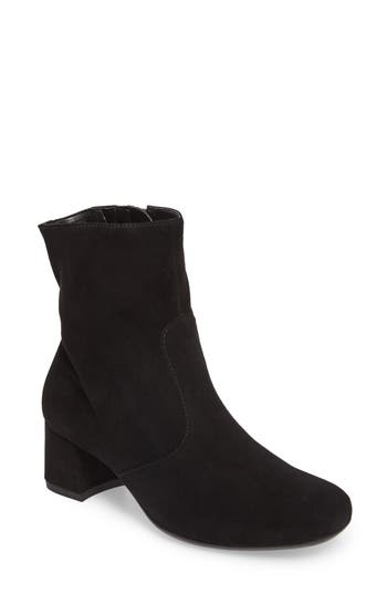 Ara Carter Sock Bootie, Black