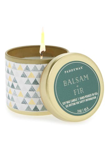 Paddywax Kaleidoscope Tin Candle, Size One Size - Blue/green