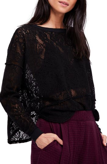 Free People Not Cold In This Top, Black