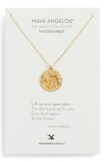 Women's Dogeared The Legacy Collection - Lift Up Your Eyes Upon... Pendant Necklace