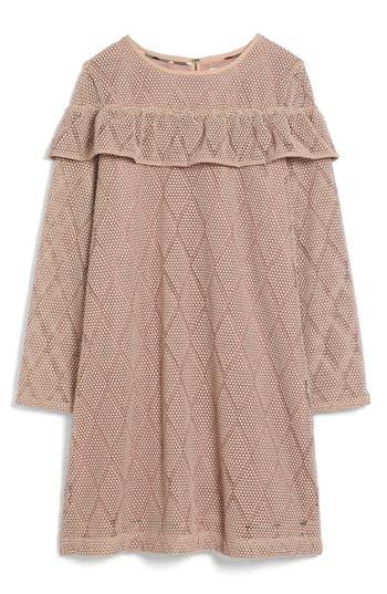Girl's Burberry Sabrina Lace Dress