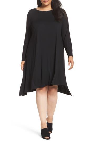 Plus Size Women's Eileen Fisher Jersey Tunic Dress