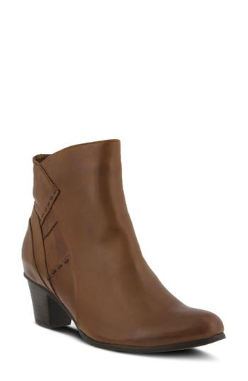 Spring Step Gaspar Bootie - Brown
