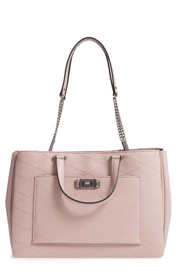 Rebecca Minkoff Je T'Aime Leather Work Tote - Pink
