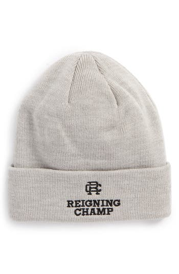 Men's Reigning Champ Embroidered Knit Cap -