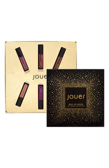 Jouer Best Of Deeps Mini Long-Wear Lip Crème Liquid Lipstick Collection -