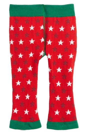 Infant Blade & Rose Gingerbread Man Leggings, Size 0-6M - Green
