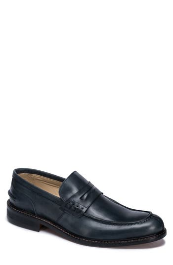 Men's Bugatchi Apron Toe Penny Loafer
