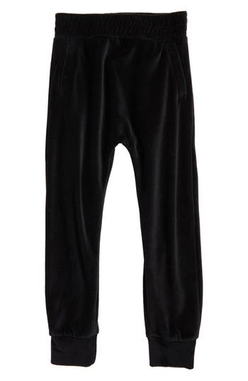 Girl's Ag Adriano Goldschmied Kids Velour Sweatpants