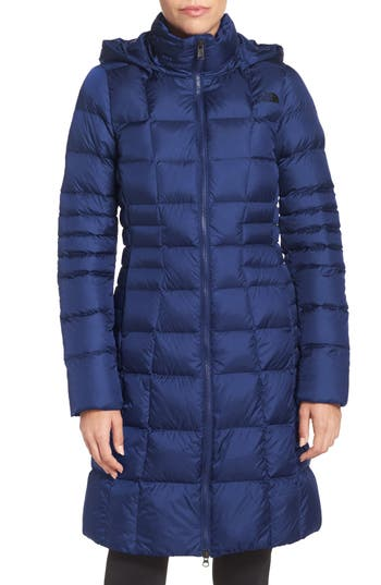 Women's The North Face 'Metropolis Ii' Hooded Water Resistant Down Parka