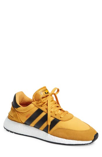 Mens Vintage Style Shoes| Retro Classic Shoes Mens Adidas I-5923 Sneaker Size 7.5 M - Yellow $119.95 AT vintagedancer.com