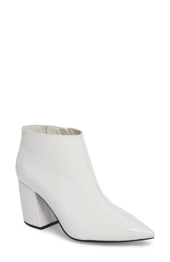 Jeffrey Campbell Total Ankle Bootie, White