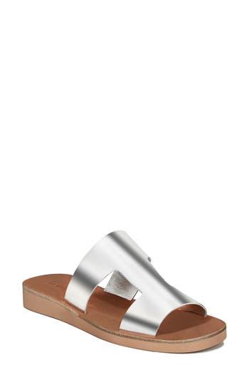 Women's Via Spiga Blanka Sandal, Size 6 M - Metallic