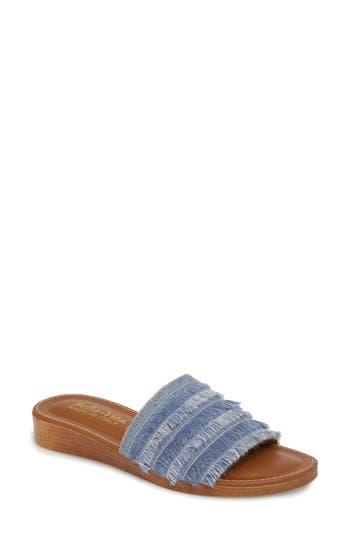 Women's Bella Vita Abi Slide Sandal, Size 6.5 M - Blue