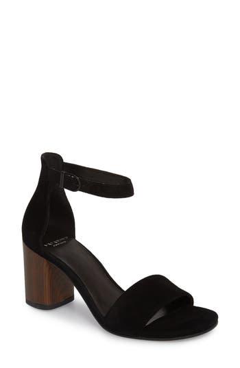 Vagabond Carol Ankle Strap Sandal, Black