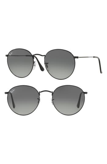 Ray-Ban Phantos 50Mm Round Sunglasses -