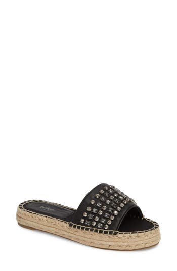 Botkier Julie Slide Sandal- Black