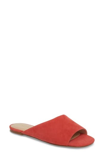 Botkier Magda Slide Sandal, Coral