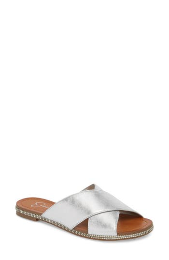 Jessica Simpson Brinella Sandal, Metallic