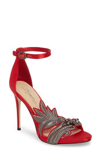 Imagine Vince Camuto Dayanara Embellished Sandal, Red