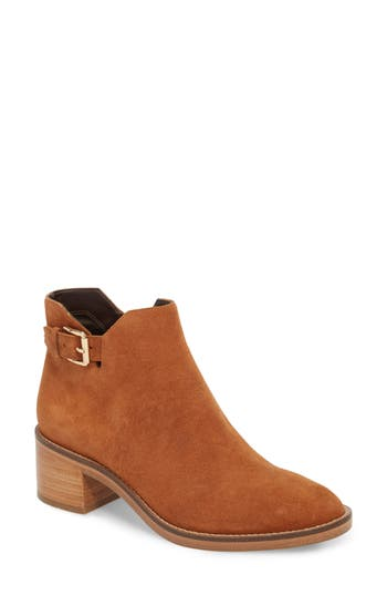 Cole Haan Harrington Grand Buckle Bootie, Brown