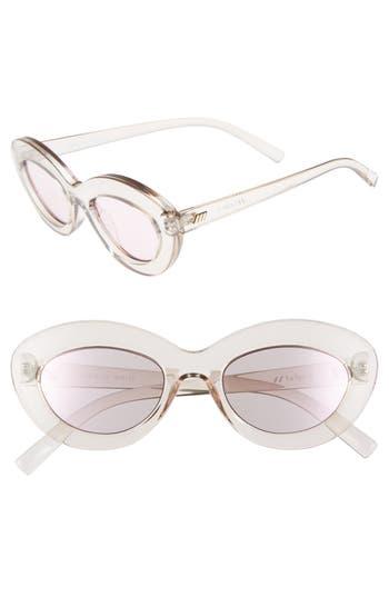 Le Specs Fluxus 4m Cat Eye Sunglasses - Pink Shadow