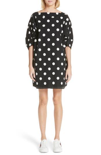 Marc Jacobs Polka Dot Dress, Black