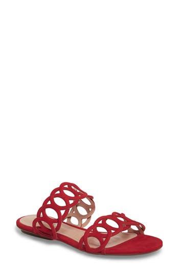 Schutz Yaslin Slide Sandal, Red